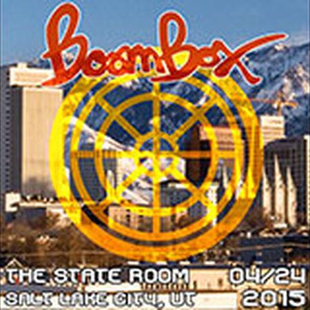 04/24/15 The State Room, Salt Lake City, UT