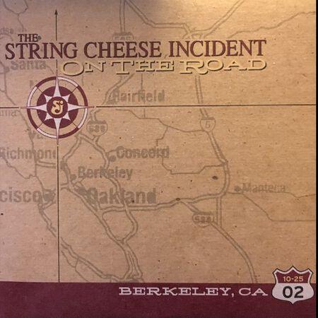 10/25/02 Berkeley Community Theatre, Berkeley, CA