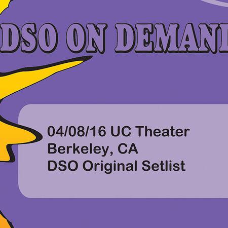04/08/16 UC Theater, Berkley, CA