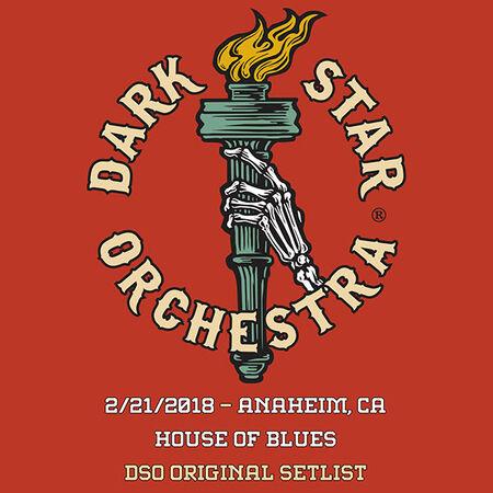 02/21/18 House Of Blues, Anaheim, CA