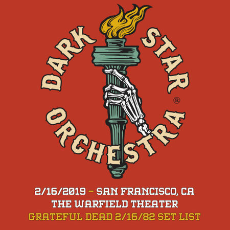 02/16/19 The Warfield, San Francisco, CA