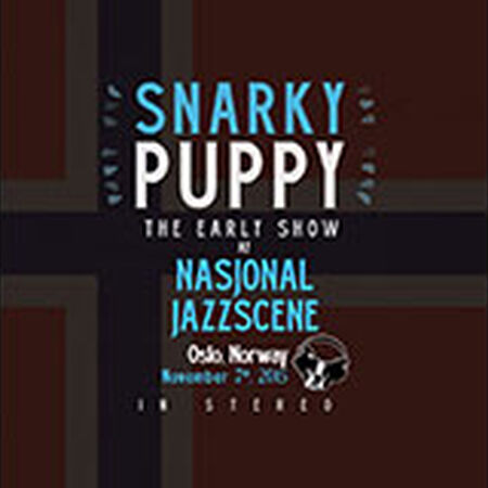 11/07/15 Nasjonal Jazz Scene, Early - Oslo, NO