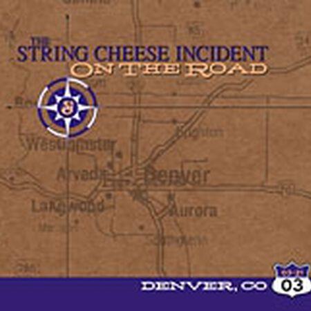 03/21/03 Fillmore Auditorium, Denver, CO