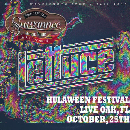 10/25/18 Hulaween at The Spirit of Suwannee Music Park, Live Oak, FL