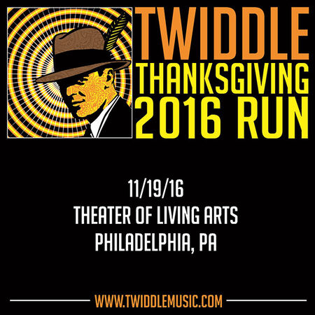 11/19/16 Theater Of Living Arts, Philadelphia, PA