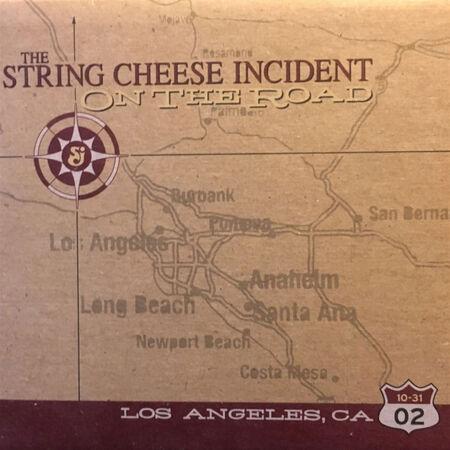 10/31/02 The Shrine Auditorium, Los Angeles, CA