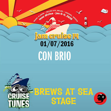 01/07/16 Brews at Sea Stage, Jam Cruise, US