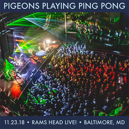 11/23/18 Rams Head Live, Baltimore, MD