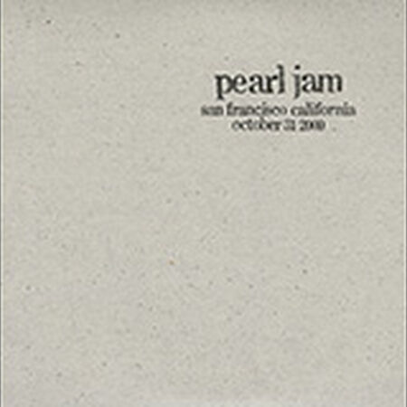10/31/00 Shoreline Amphitheatre , Mountain View, CA
