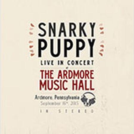 09/16/15 Ardmore Music Hall, Ardmore, PA