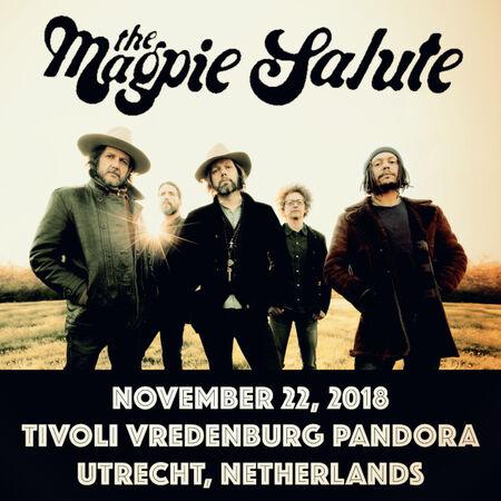 11/22/18 Tivoli Vredenburg Pandora, Utrecht, NL