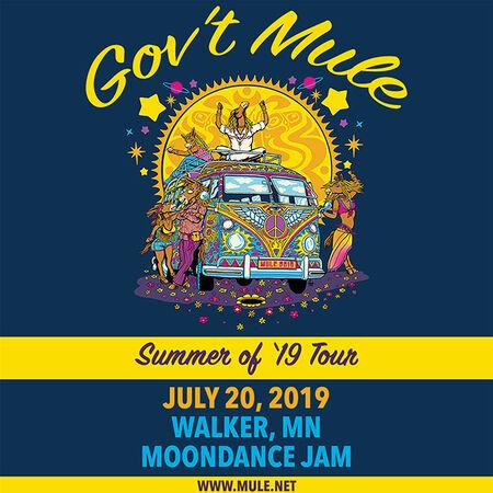 07/20/19 Moondance Jam, Walker, MN