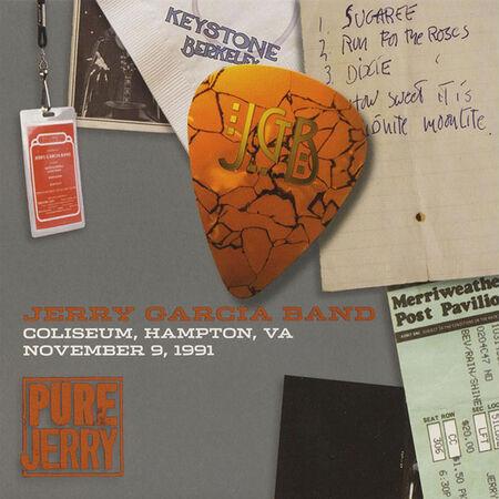 11/09/91 Pure Jerry: Hampton Coliseum, Hampton, VA
