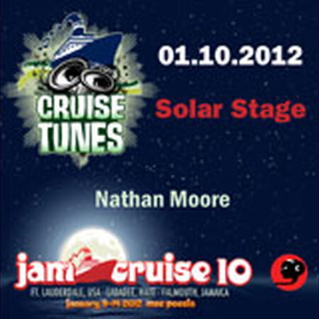01/10/12 Solar Stage, Jam Cruise, US