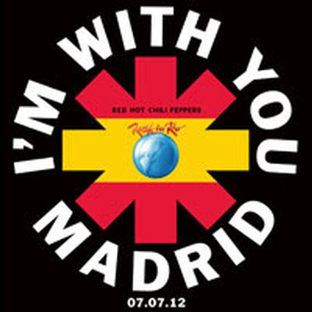 07/07/12 Rock In Rio Madrid, Madrid, ES