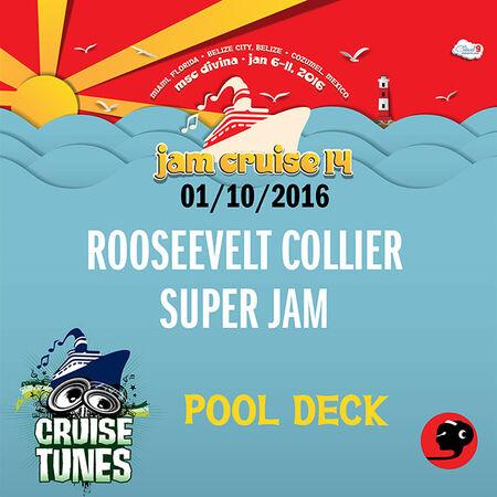 01/10/16 Pool Deck, Jam Cruise, US