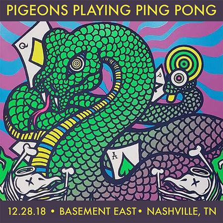 12/28/18 The Basement East, Nashville, TN