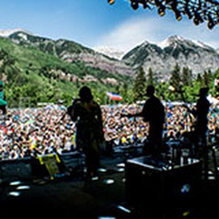 06/20/15 Telluride Bluegrass Festival, Telluride, CO
