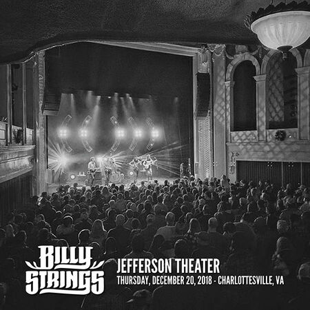 12/20/18 Jefferson Theater, Charlottesville, VA