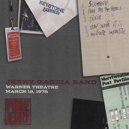 03/18/78 Warner Theatre, Washington, DC