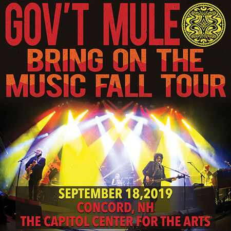 09/18/19 The Capitol Center for the Arts, Concord, NH