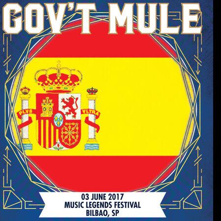 06/03/17 Music Legends Festival, Bilbao, ES