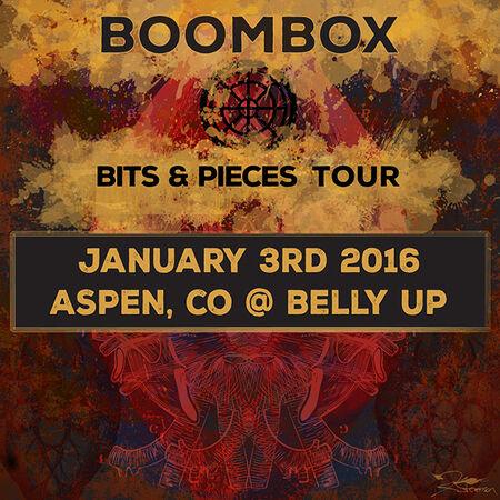 01/03/16 Belly Up, Aspen, CO