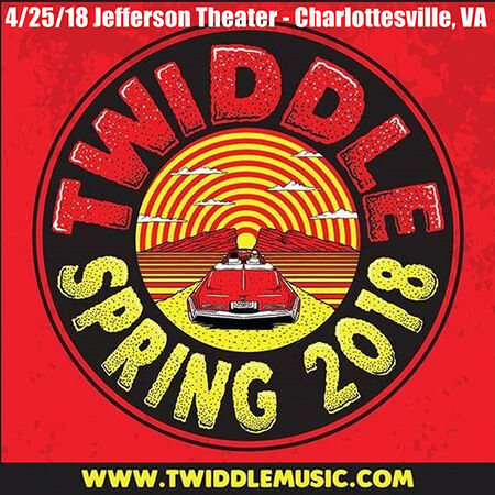 04/25/18 The Jefferson Theater, Charlottesville, VA