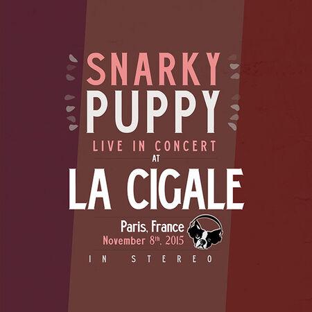 11/08/15 La Cigale, Paris, FR