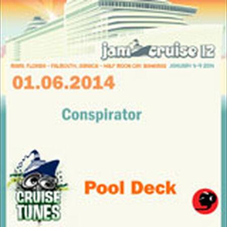 01/06/14 Pool Deck, Jam Cruise, US