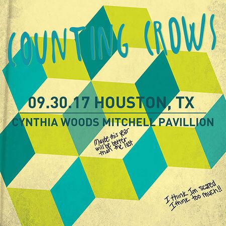 09/30/17 Cynthia Woods Mitchell Pavilion, Houston, TX