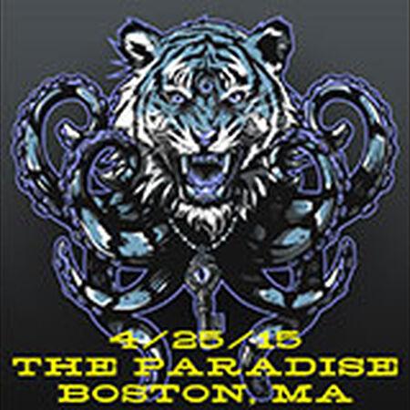 04/25/15 The Paradise, Boston, MA
