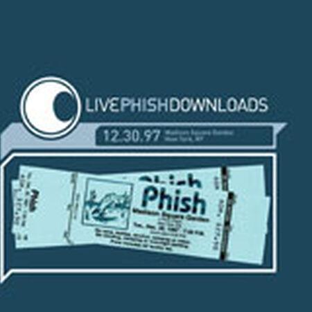 12/30/97 Madison Square Garden, New York, NY