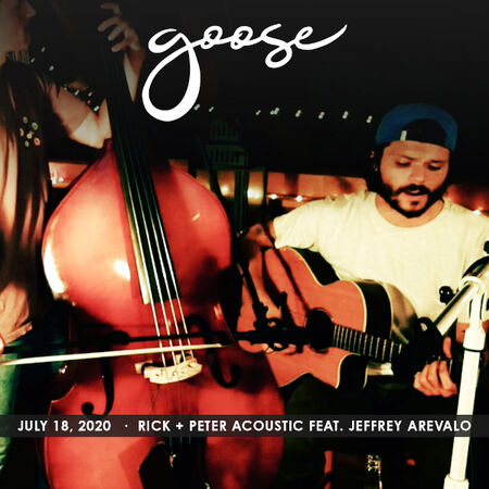 07/18/20 Rick & Peter Acoustic ft. Jeff Arevalo , The Solarium, CT