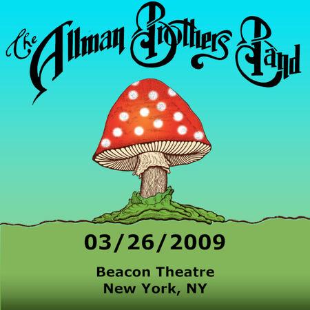 03/26/09 Beacon Theatre, New York, NY