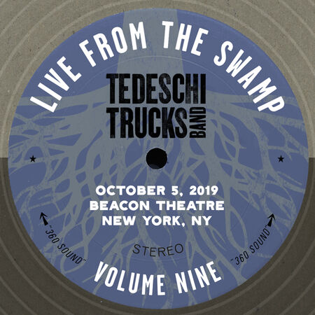 10/05/19 Live from The Beacon Theatre, New York, NY