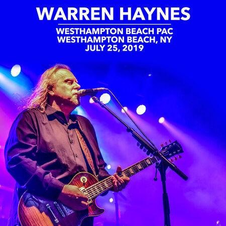 07/25/19 Westhampton Beach PAC, Westhampton Beach, NY