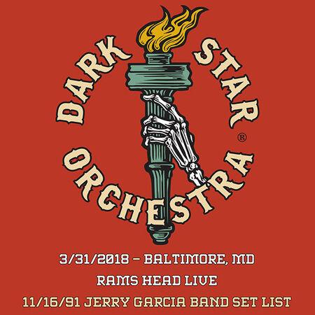 03/31/18 Ram's Head, Baltimore, MD