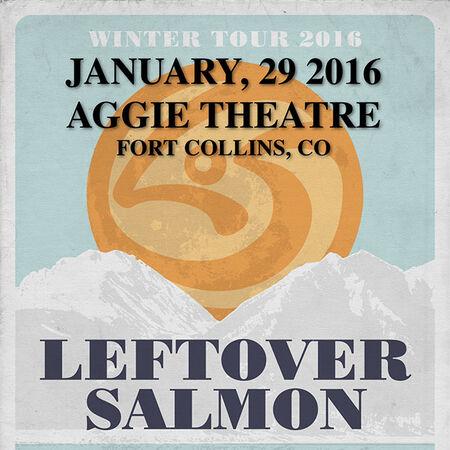01/29/16 Aggie Theatre, Fort Collins, CO