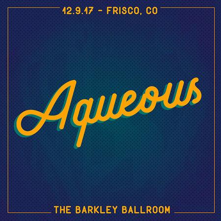 12/09/17 The Barkley Ballroom, Frisco, CO