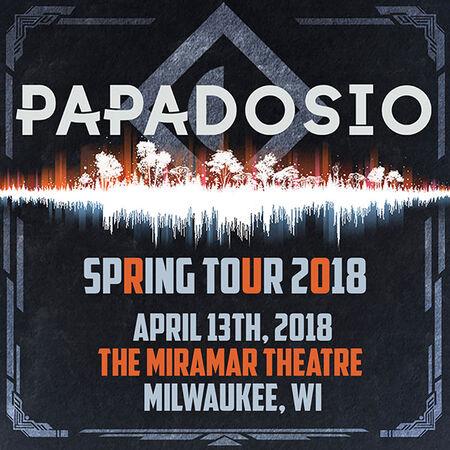04/13/18 The Miramar Theater, Milwaukee, WI