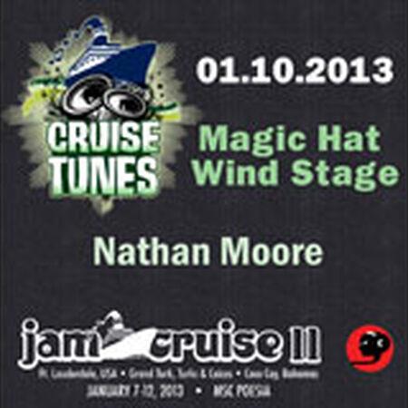 01/10/13 Magic Hat Wind Stage, Jam Cruise, US