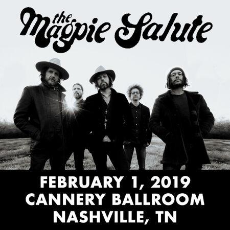 02/01/19 Cannery Ballroom, Nashville, TN