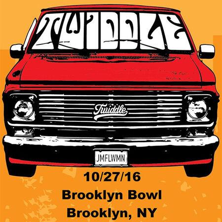 10/27/16 Brooklyn Bowl, Brooklyn, NY