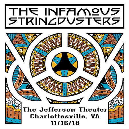 11/16/18 The Jefferson Theater, Charlottesville, VA