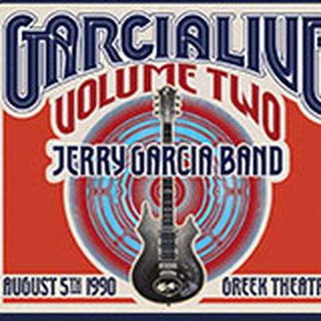 08/05/90 GarciaLive Vol. 2 - Greek Theatre, Berkeley, CA