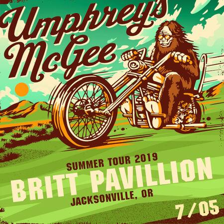07/05/19 Britt Pavilion, Jacksonville, OR