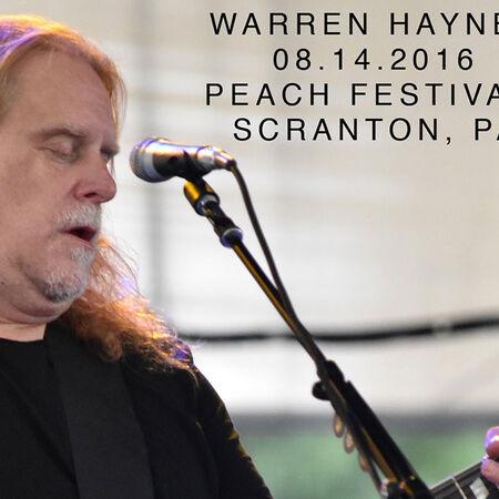 08/14/16 The Peach Music Festival, Scranton, PA
