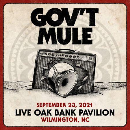 09/23/21 Live Oak Bank Pavilion , Wilmington, NC