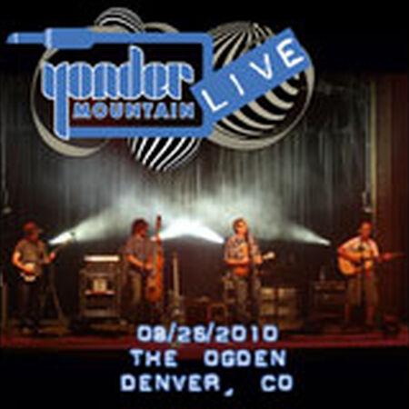08/26/10 Ogden Theatre, Denver, CO